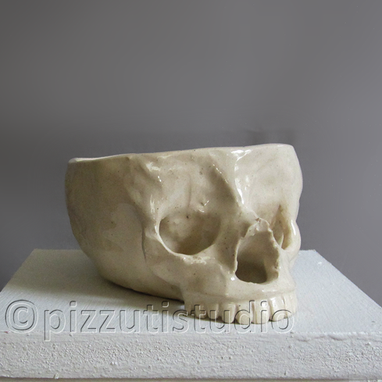 Custom Made Skull Sculpture