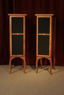Custom Made Art Nouveau Style Speakers