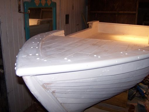 Custom Made Hanging Boat Bed