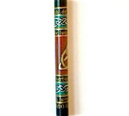 Custom Made Celtic Knot Work Trinity Know Triskelion Hand Painted Walking Stick