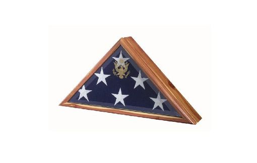 Custom Made Flag Box, Flag Display Cases