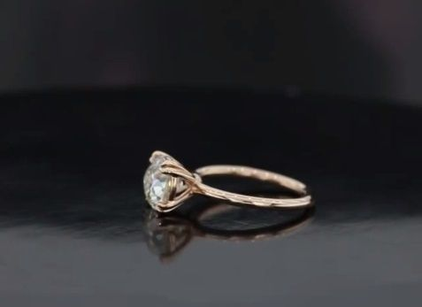 Custom Made Our Ballerina Solitaire