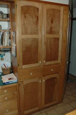 Custom Made Custom Pantry And Doors