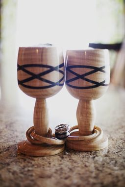 Custom Made Celtic Wedding Goblets
