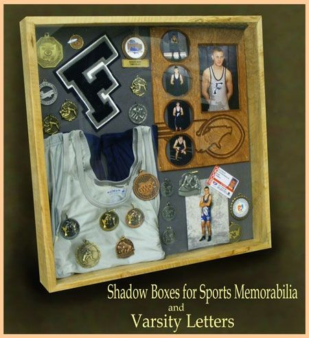 Custom Wood Shadow Boxes For Sports By Greg Seitz