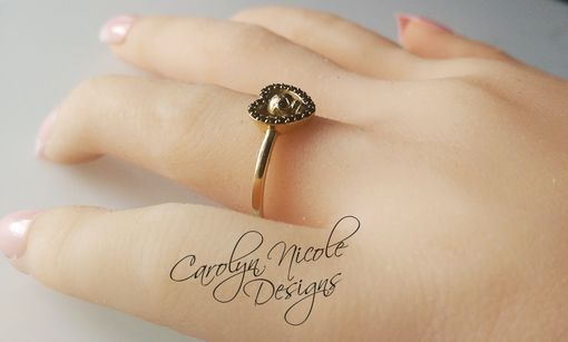 Custom Made Skull Ring (Sweet Heart)