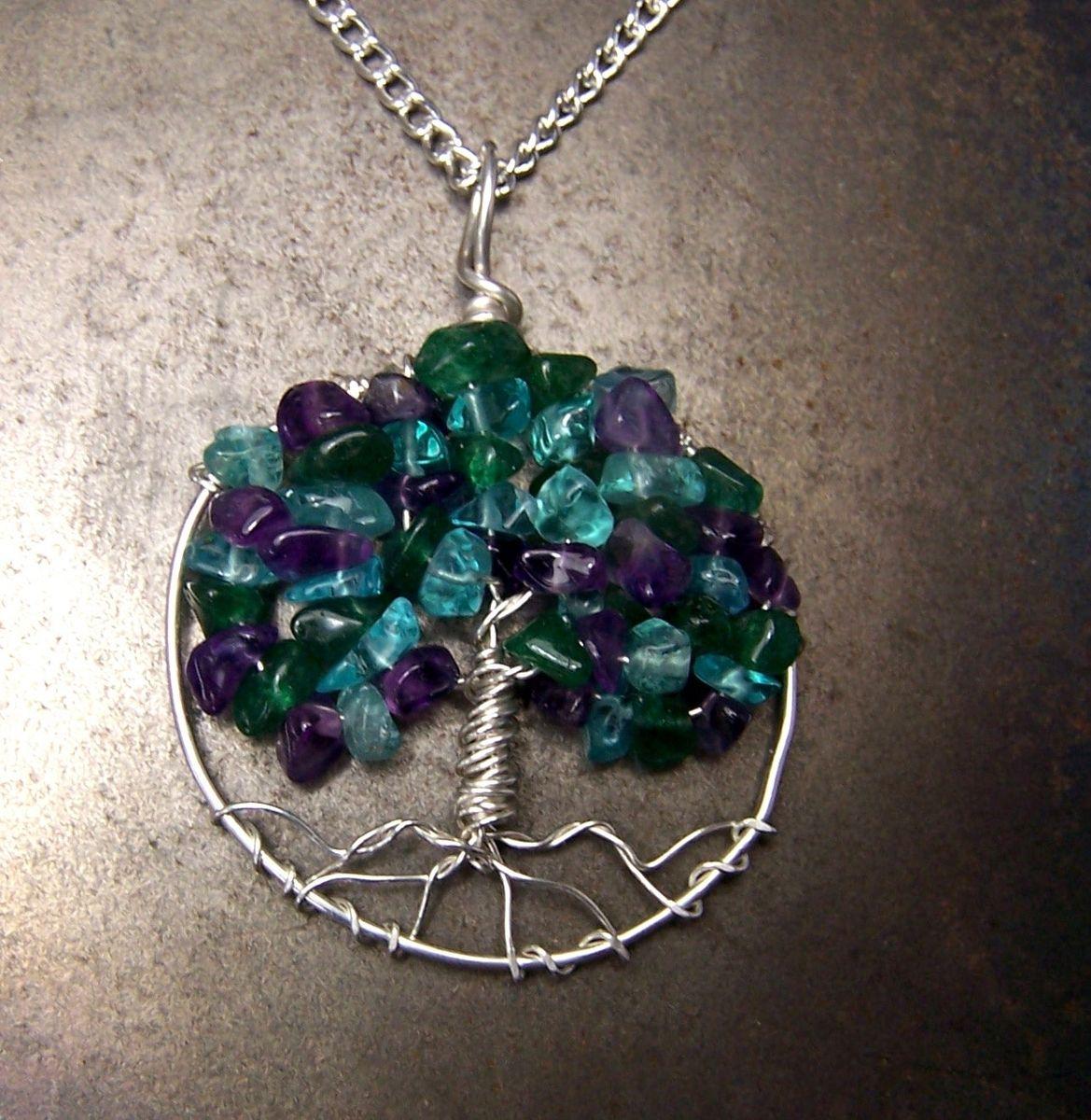 Buy a custom small family tree birthstone necklace grandmothers custom made small family tree birthstone necklace grandmothers mothers necklace aloadofball Gallery