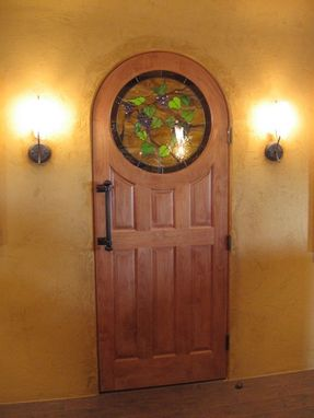 Custom Made Custom Wooden Door #3