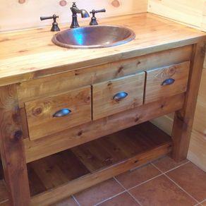 Custom Made Bathroom Vanity