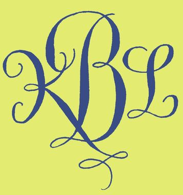 Custom Made Monograms