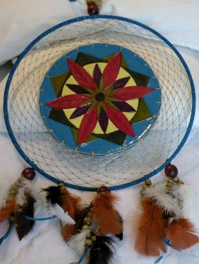 Custom Made Geometric Flower Dreamcatcher