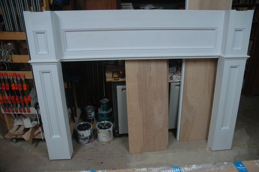 Custom Made Custom Fireplace Surround And Mantle Top