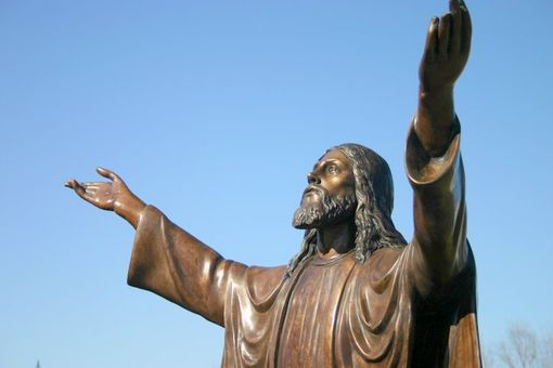 Custom Made Bronze Christ The Redeemer