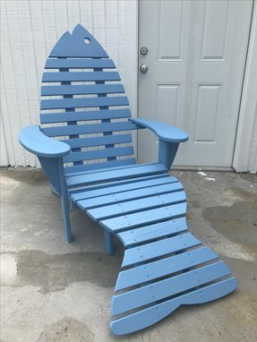 Custom Made Fish Chair