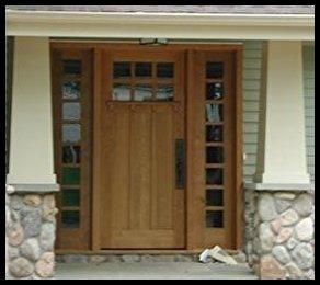 Custom Made Authentic Craftsman Style Entry Systems