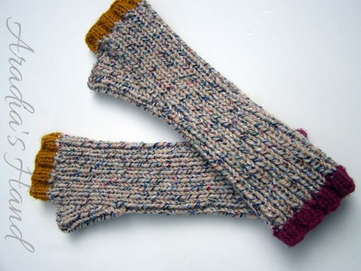 Custom Made Custom Fit Hand Knit Armwarmers