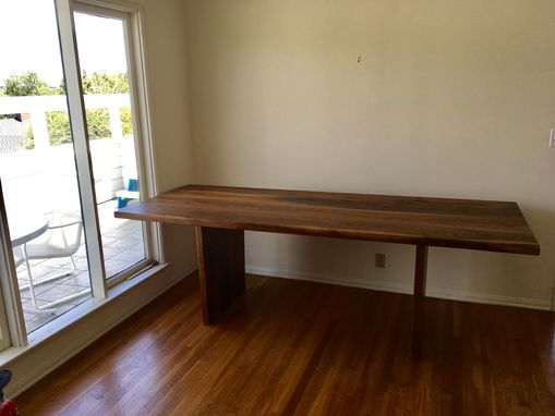 Custom Made Simple Sturdy Walnut Table