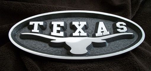 Custom Made Texas Longhorn Grille Emblem For Ford Truck