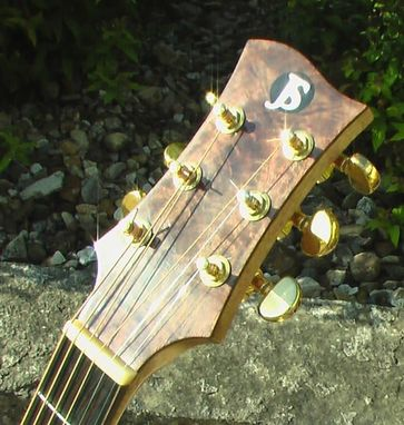 Custom Made Jsimpson Dreadnaught Acoustic Guitar
