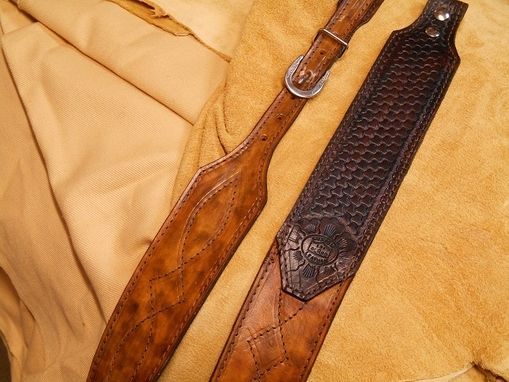Custom Made Leather Rifle Sling