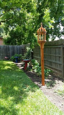 Custom Made Tuscany Bird Feeder