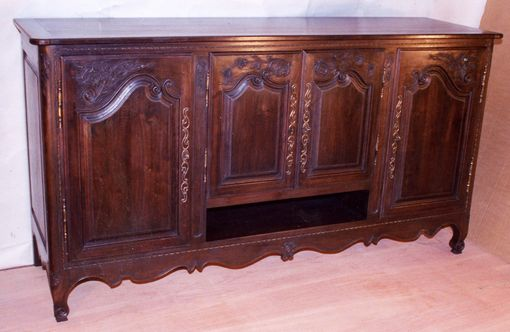 Custom Made Entertainment Cabinet In The French Style In Walnut