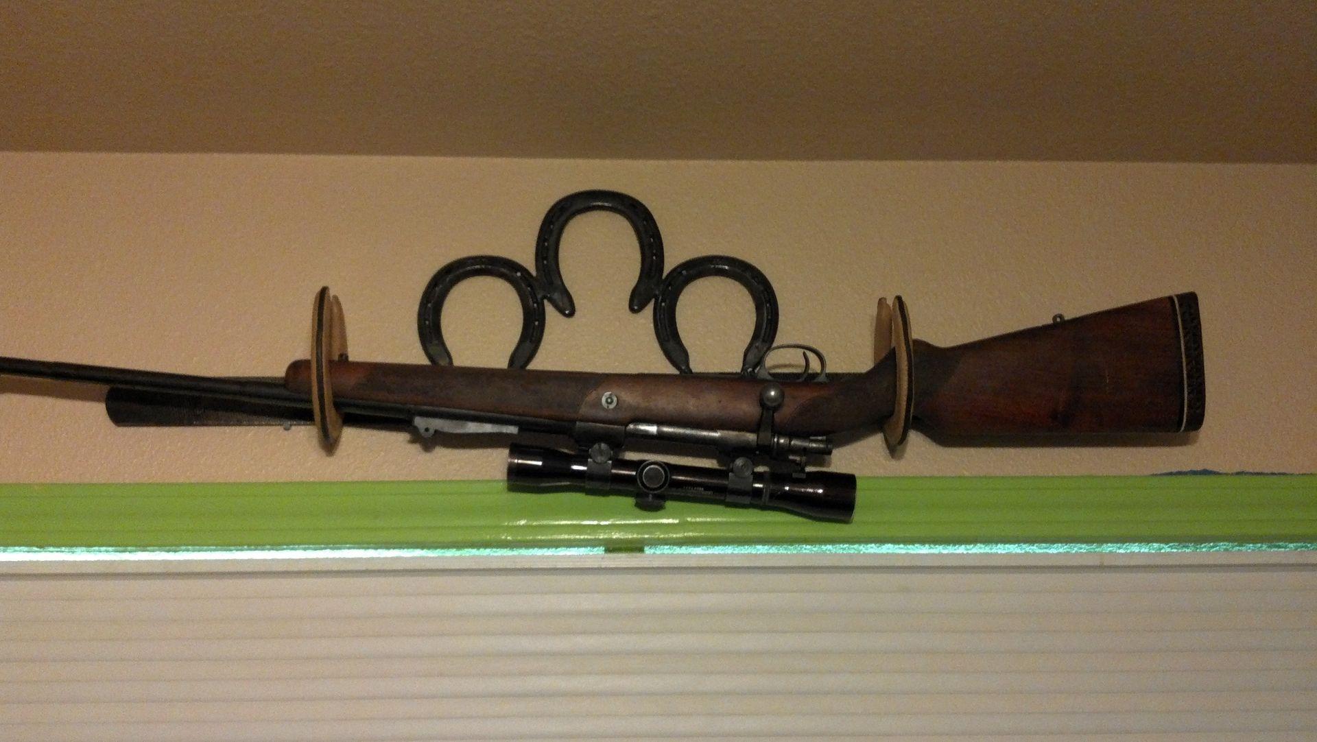 Custom Gun Rack By Dh Metal Works Custommade Com