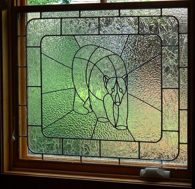 Custom Made Polar Bear Window