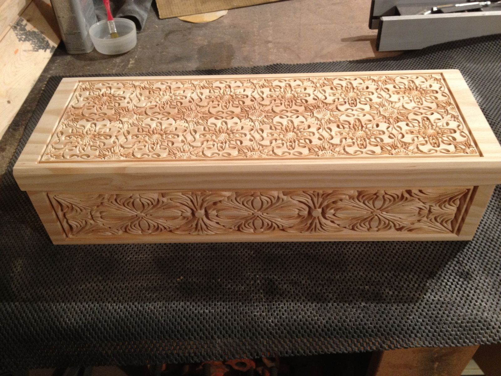 Handmade Carved Wooden Boxes By Raw Creations Cnc