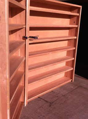 Custom Made Cherry Bookcases, Executive Bookcase