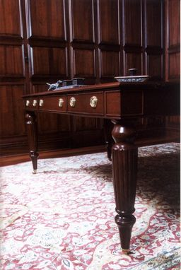 Custom Made Old English Style Desk