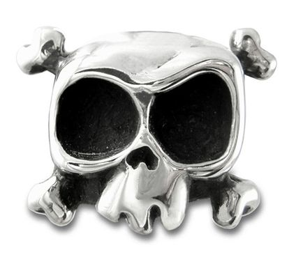 Custom Made Skull Ring Louie In Sterling Silver