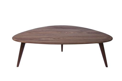 Custom Made Oliver- Modern Walnut Coffee Table