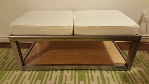 Custom Made Handmade Customizable Coffee Table/Ottoman/Bench Seat
