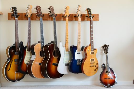 Custom Made Guitar Rack