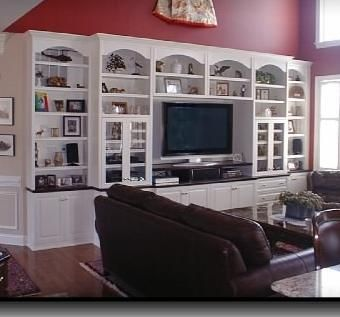 Custom Made Built In Cabinets