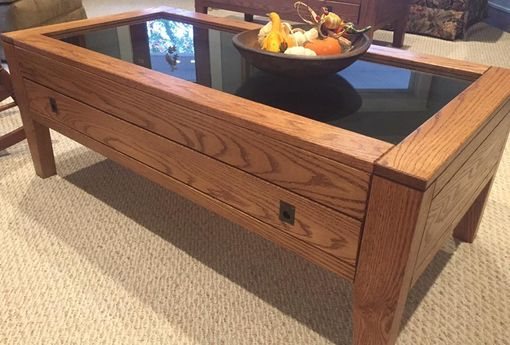 Custom Made Display Top Coffee Table