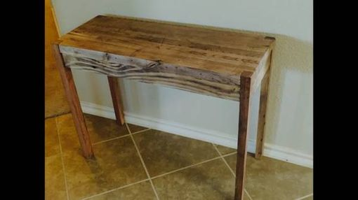 Custom Made Sollid Oak Sofa Table