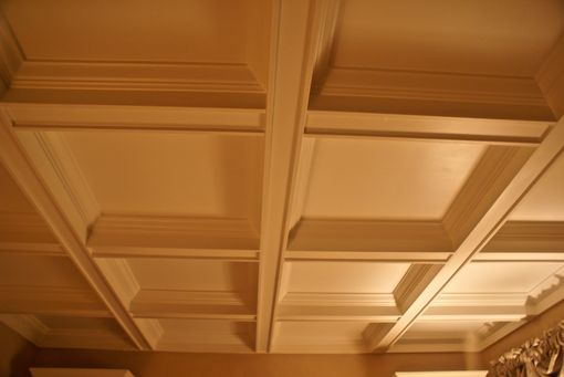 Custom Made Coffered Ceiling