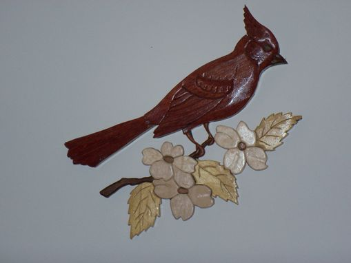 Custom Made Cardinal In Dogwood