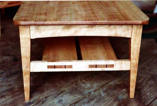 Custom Made Curly Cherry Coffee Table