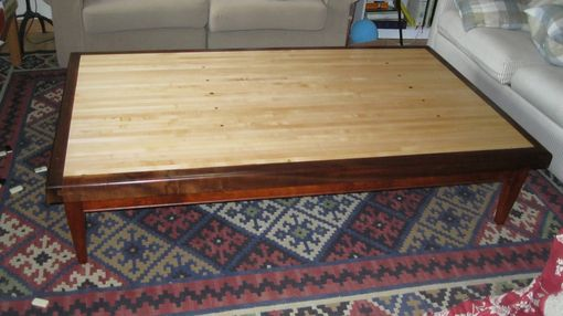 Custom Made Reclaimed Bowling Alley Coffee Table
