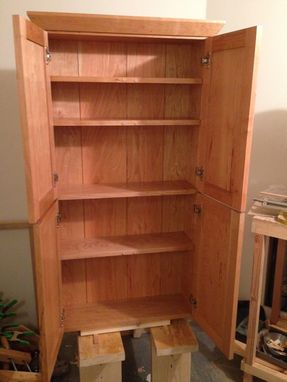 Custom Made Shaker Wall Cabinet