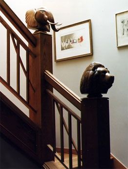 Handmade Hand Carved Oak Newel Post Finials By Joel Shepard
