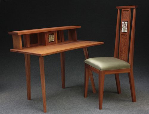 Custom Made Desk And Chair
