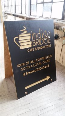 Custom Made Sandwich Board Sign For Your Business
