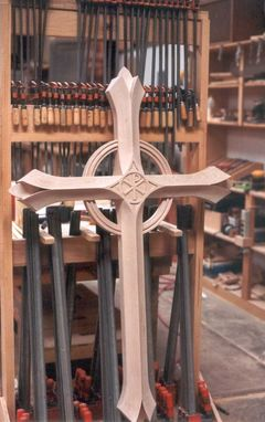 Custom Made Carved Cross
