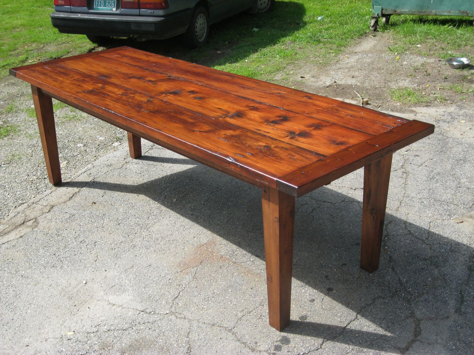 handmade farm table handmade vermont reclaimed lumber farm table by spaulding 9046