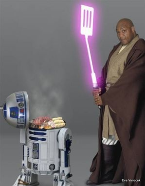 Custom Made Mace Windu Wool Robe In 7 Sizes