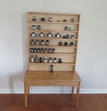 Custom Made Ink Shelves